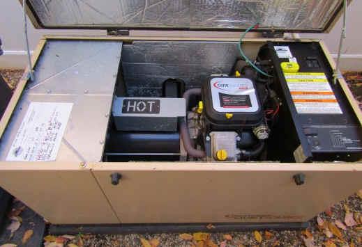 generator a test run