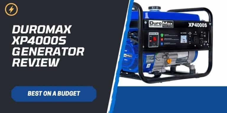 DuroMax XP4000S Generator Review