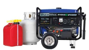 Duromax XP4400EH Reviews (Dual Fuel Electric Start Portable Generator)