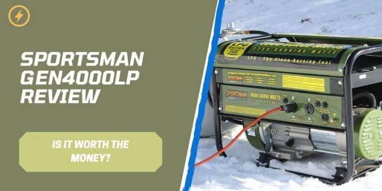 Sportsman GEN4000LP Review