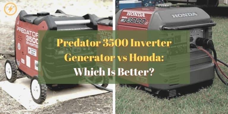 Predator 3500 Inverter Generator vs Honda