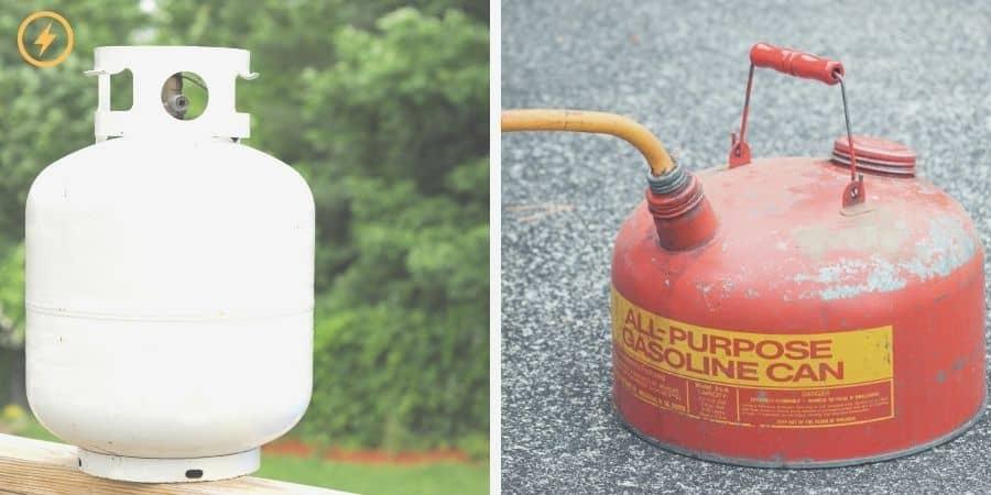 Propane vs gasoline