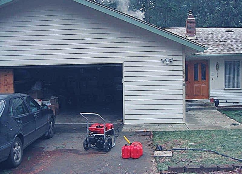 Safely Run A Generator In A Garage